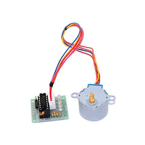 28BYJ-48 5V 4-Phase engranaje de la CC de pasos del motor paso a paso + tablero de conductor ULN2003 con unidad de prueba del tablero Maquinaria Módulo for Arduino DIY Kit de accesorios Sustitución Ma