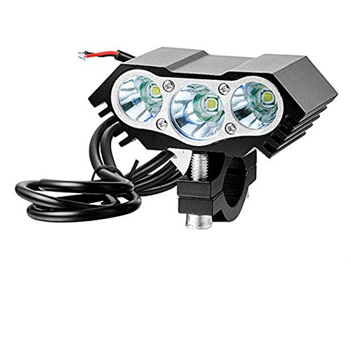 Batterie Rechargeable LED USB Lampe étanche vélo Phare vélo lumière de vélo Avant Charge du vélo Lampe de Poche 3xT6