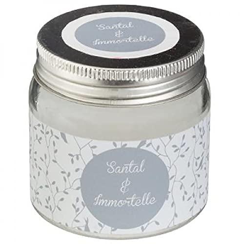 Ducomi Velas perfumadas en tarro de cristal – Idea regalo para tu casa – Perfume intenso y duradero (65 g, sándalo)