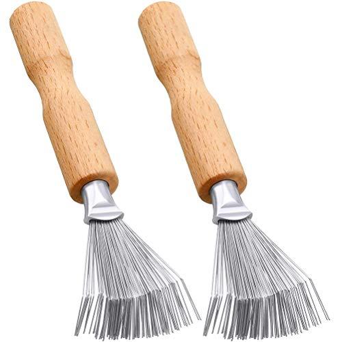 Sahgsa Haarbürsten-Reiniger Home Kunststoff-Haarbürsten-Kamm-Reiniger Reinigungs-Entferner Eingebettete Griff-Werkzeuge für das Haar-Styling