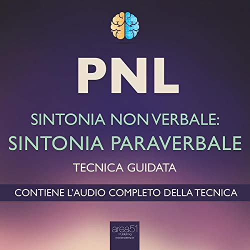 PNL. Sintonia paraverbale copertina