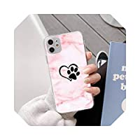 TieSen Dog pawCell Phone Case For iPhone 11pro MAX 8 7 6 6S Plus X XS MAX 5 5S SE XR Fundas Capa-a9-For iPhone 11pro