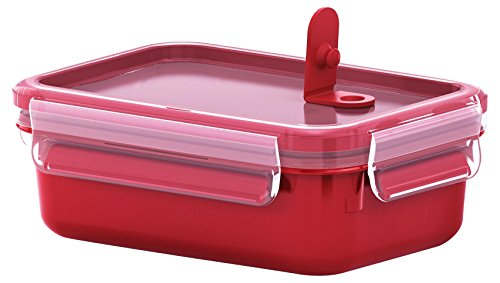 Tefal K3102012 - Masterseal Micro - Boîte spécial micro-ondes - 0.55 L - Rouge