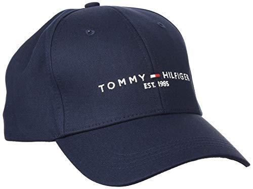 Tommy Hilfiger TH Established Cap Gorro/Sombrero, Cielo del Desierto, Taille Unique para Hombre