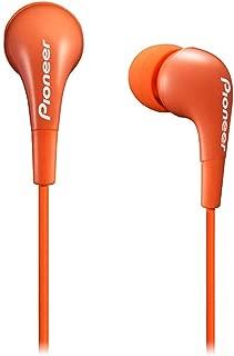 Pioneer in-Ear Earbud Lightweight Headphones Crystal Clear Sound (Orange)