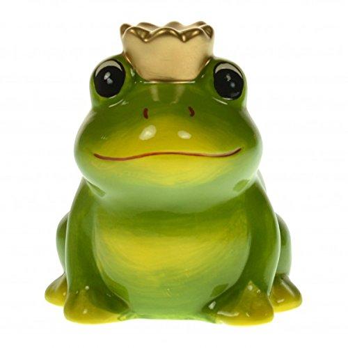 Die Frosch Spardose aus Keramik