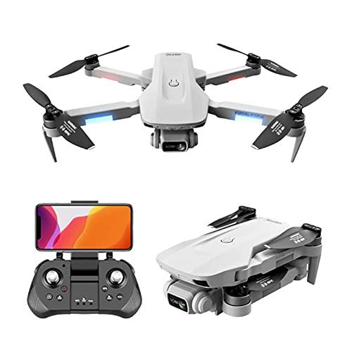 Lobhqph Drone GPS con Fotocamera 6K per Adulti, quadricottero con 5G WiFi FPV Video in Diretta, Ritorno a casa GPS, Motore brushless, seguimi, Batteria con autonomia di Volo di 90 Minuti * 3