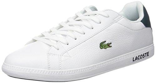 Lacoste Herren Graduate Lcr3 118 1 SPM Sneaker, Weiß (Wht/dk Grn), 42 EU