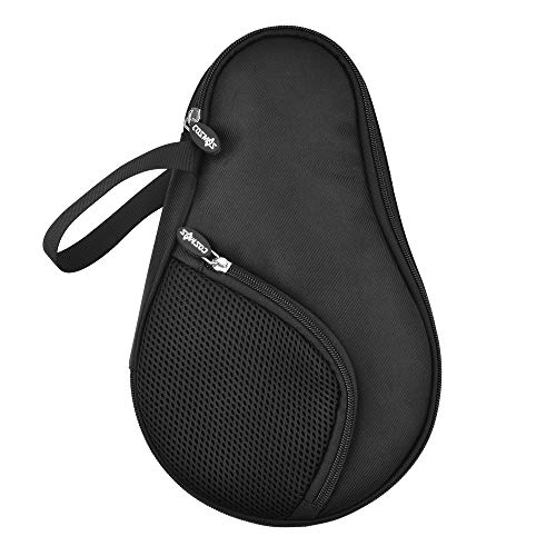 Read About CM Table Tennis Racket Case Cover Ping Pong Paddle Carry Bag with Ball Storage Pocket, Fo...
