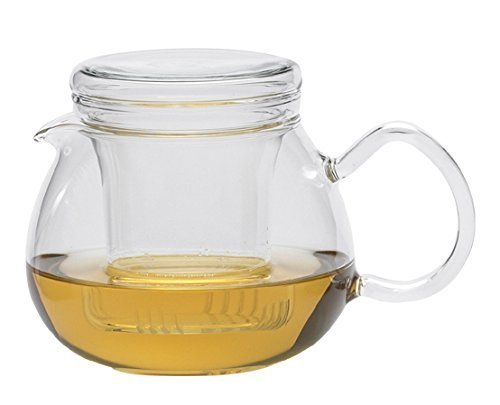 Trendglas Jena Pretty Tea II - Tetera con Filtro de Cristal (0,5 L)
