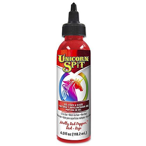 Unicorn Spit 5770002Gel anti-taches et Glaze Molly Poivron rouge 11,8cl Bouteille
