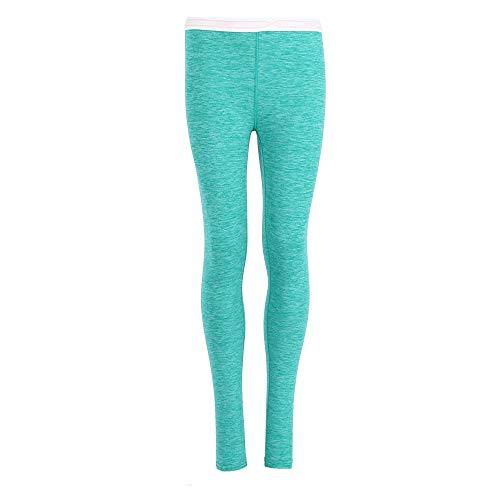 Hanes Hanes Girls Space Dye Pant (125706) -Aqua Combo -XL