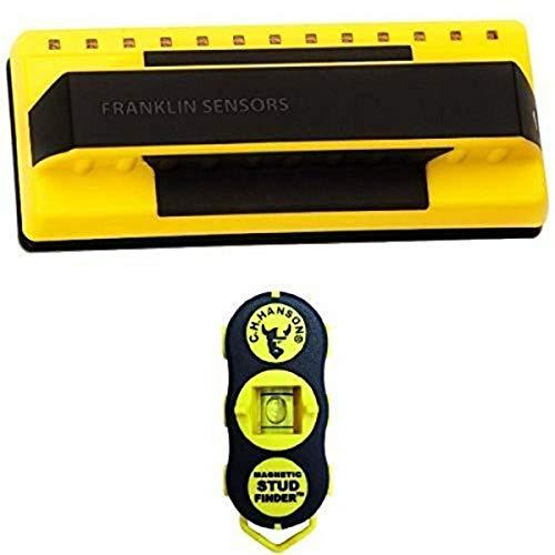 ProSensor 710 Franklin Sensors ProSensor 710 Precision Stud Finder Yellow with CH Hanson 03040 Stud 4 Sure Magnetic Stud Finder Bundle