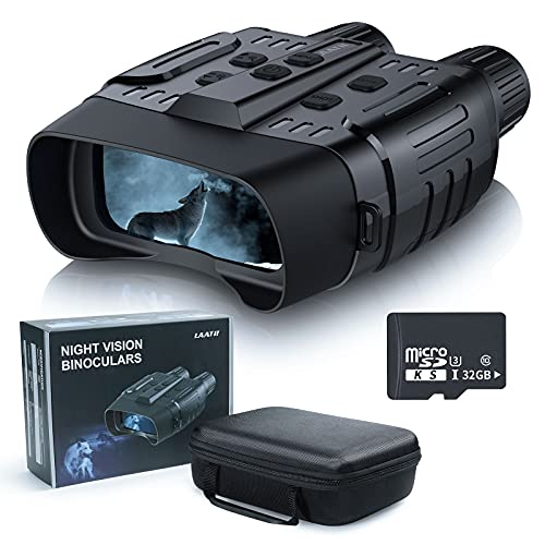 Night Vision Goggles -IR Night Vision Binoculars for...
