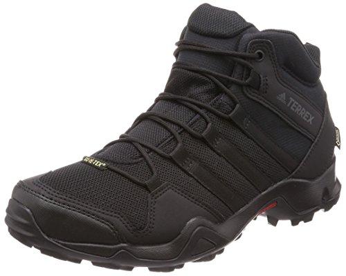 adidas Adidas Herren Terrex AX2R Mid GTX Trekking- & Wanderstiefel, Schwarz (Negbás/Negbás/Gricin 000), 44 2/3 EU