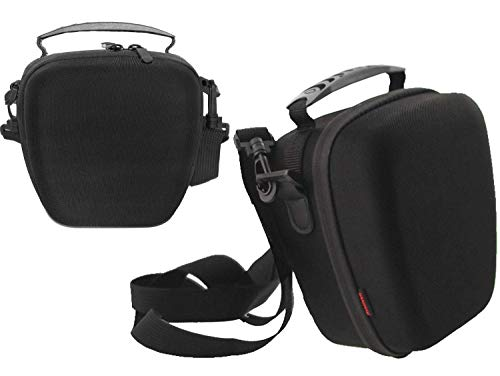 Navitech Black Rugged Hard EVA Protective Carry Case Compatible with The Kodak PIXPRO AZ528 Astro Zoom Bridge Camera