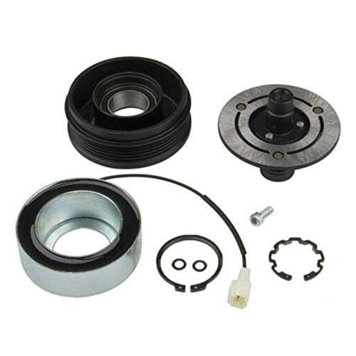 XIAOFANG Kit de reparación de Embrague de Embrague del compresor de A/C A/C Ajuste para 2004 2005 2006 2007 2008 2009 2010 2010 Mazda 3 5 (Color : Black)