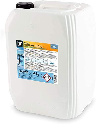 Höfer Chemie BAYZID 4 x 28 kg pH Minus zur Senkung des pH Werts in Pool & Schwimmbad