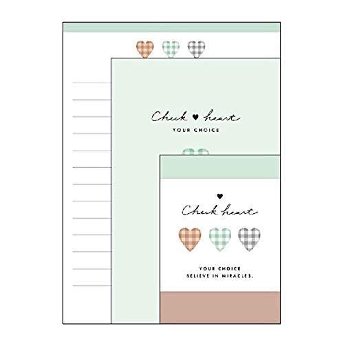 クラックス CHECK HEART プチプチ封筒レター [013518]