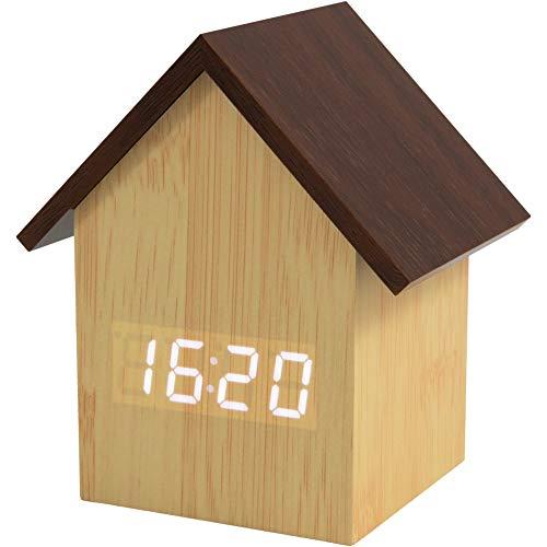 Fisura Reloj Despertador casita de Madera