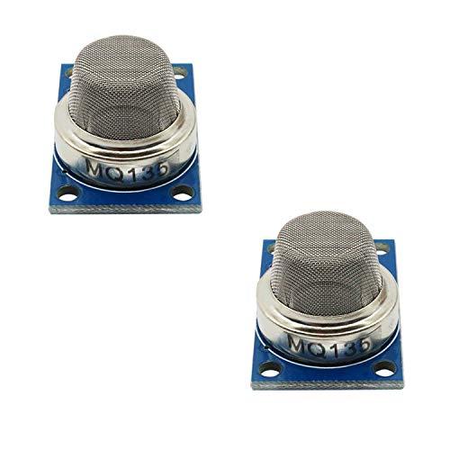 2 Pack MQ-135 Air Quality and Hazardous Gas Detection Sensor Alarm Module