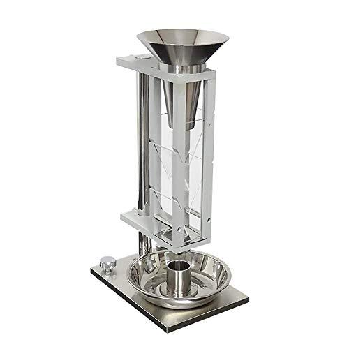 Probador de densidad a granel Scott Volumeter Medidor de densidad floja Probador de densidad aparente Instrumento de densímetro a granel para polvo