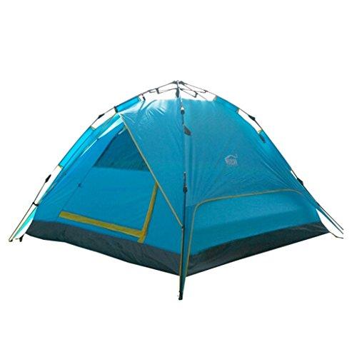 ChengLao- Tentes entièrement automatiques 3-4 personnes Self-driving Equipment Outdoor Camping Tentes de loisirs de plage (Color : C)