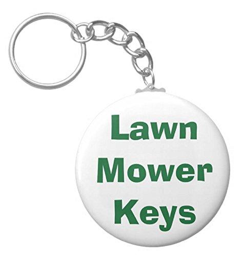 """A&T Designs Lawn Mower Keys 2.25"""" Keychain..."""