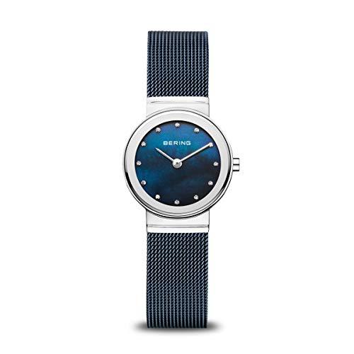 BERING Damen-Armbanduhr Analog Quarz Edelstahl 10126-307