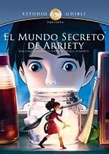 - El Mundo Secreto de Arrietty (The Secret World of Arrietty) aka Arrietty y el Mundo de los Diminutos [*NTSC/Region 1&4 dvd. Import - Latin America] Studio Ghibli (Audio: Japanese, Spanish Subtitles: Spanish) - No English options
