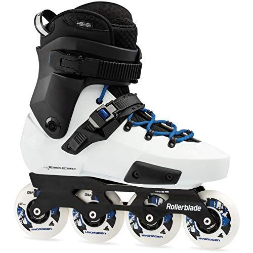 Rollerblade Twister Edge X Patines Blanco, Adultos Unisex, White/Royal Blue, 265