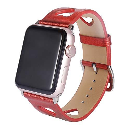 Correa de Repuesto Compatible con Apple Watch 40 mm 38 mm, Silicona Suave Correa de Repuesto Transpirable Compatible con iWatch SE Series 6 5 4 3 2 1 para Mujeres Hombres,38mm/40mm