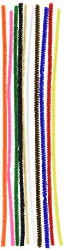 Vaessen Creative 1084-11 Pfeifenreiniger zum Basteln und Dekorieren, Cheniulle, Mehrfarbig, 30 x 0.6 x 0.1 cm, 100-Einheiten