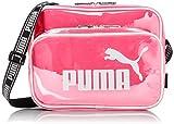 プーマ PUMA 横型エナメルミニショルダーバッグ J20072 ECLA エラ エナメル ミニ ショルダー バック 横型 ピンク 並行輸入品