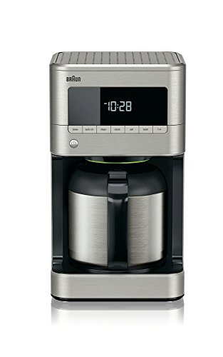 Braun KF7175 Braun Sense Thermal Drip Coffee Maker, Stainless Steel, 7.9 x 7.9 x 14.2 inches count of 2