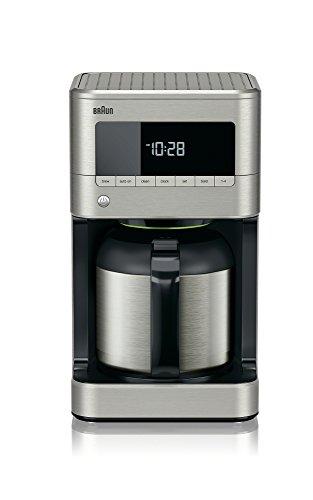 Braun KF7175 Braun Sense Thermal Drip Coffee Maker, Stainless Steel,...
