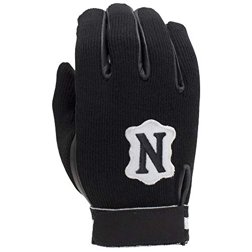 Adams Neumann Touchscreen Winter Football Coach and Referee Gloves, Black, X-Large
