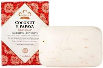 nubian heritage bar soap coconut and papaya