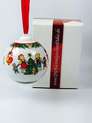 Hutschenreuther Weihnachtskugel 1997 Porzellan