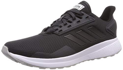 adidas Duramo 9, Zapatillas de Entrenamiento Mujer, Gris (Carbon/Core Black/Grey 0), 43 1/3 EU