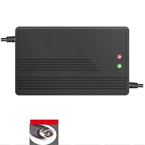 ZHOUHUAW 48V 5A Elektroroller-Ladegerät, Schnell Aufladbares Lithium-Batterie-Netzteil, Für Selbstausgleichendes Einrad-Roller-Zubehör,B