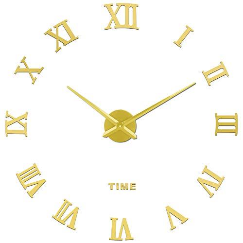 SOLEDI CL-09 Orologio da Parete Fai-da-Te, Facile da Montare, Design Moderno, Usato per Decorare La Parete Vuota, Come casa, Ufficio, Hotel