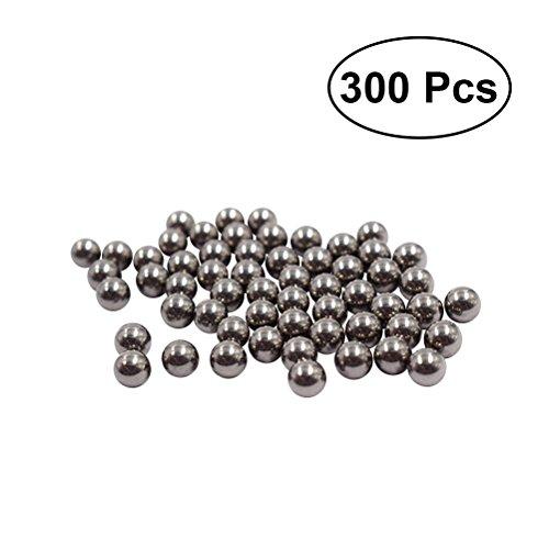 BESTONZON Cuentas de limpieza de acero inoxidable 300 piezas, reutilizables, para limpiar...