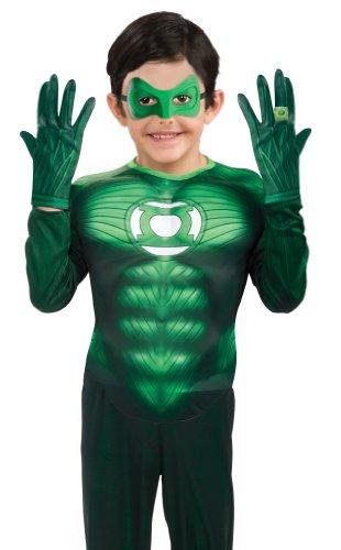 Green Lantern Child's Gloves Costume Accessory