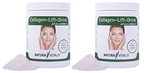 Natura Vitalis - Collagen-Lift-Drink mit L-Lysin 2er Pack (2 x 400 g)