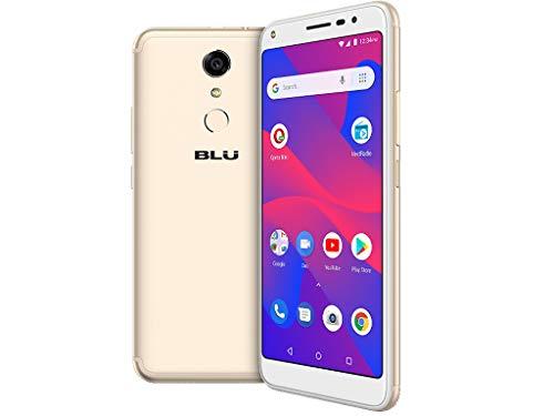 BLU Studio View - 5.5' HD Unlocked Smartphone -16GB+1GB RAM- Gold