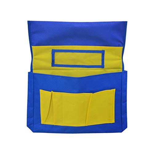 Stuhl Taschen für Schüler im Klassenzimmer Rücken Aufbewahrung Tasche Stuhl Aufbewahrungsbezüge Stuhl Rücken Sitz Sack für Home Office Klassenzimmer Kinder Schulmaterial