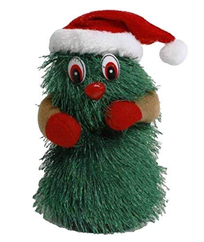 HAAC künstlicher tanzender Weihnachtsbaum mit Musik 17 cm