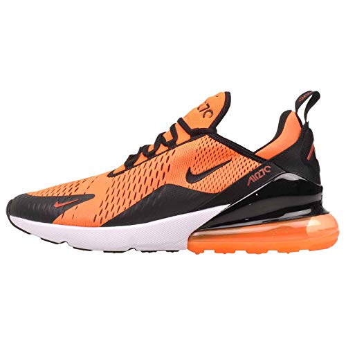 Nike Air Max 270, Chaussures de Fitness Homme, Multicolore (Total Orange/Black/White/Chile Red 800), 47 EU