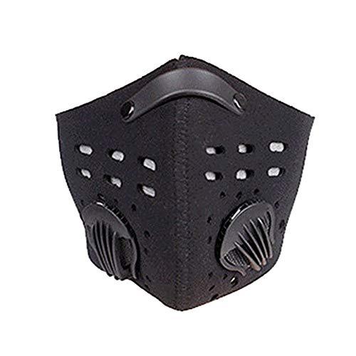 Stel je voor oranje Anti-vervuiling Sport Masker Verstelbare Neus Clip Stofdicht Masker Voor Fietsen Hardlopen